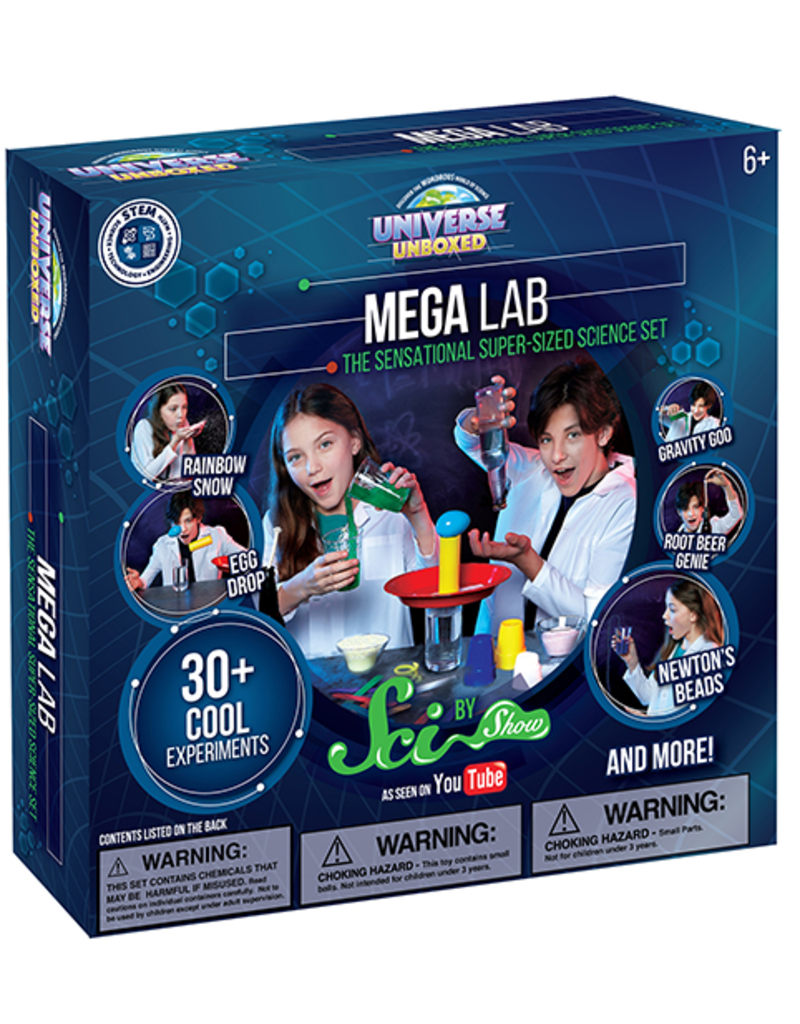 Be Amazing Toys MEGA Science Lab - Be Amazing Toys