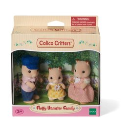 Epoch Calico Critters Fluffy Hamster Family