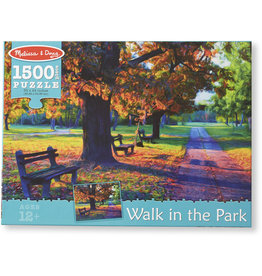 Melissa & Doug Puzzle - Walk in the Park Puzzle - 1500 Piece