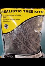 "Woodland Scenics Hobby Realistic Trees Kit - 7 Green Deciduous (5"" to 7"")"