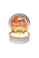 "Crazy Aaron Putty Crazy Aaron's Thinking Putty - Amber Glow - 2"" Mini Tin"