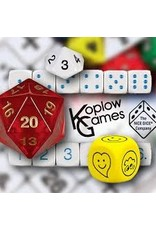 Koplow Games Bowl of Assorted Dice (Sold Individually)