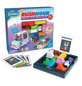 Think Fun Rush Hour Jr. Traffic Jam Logic Game