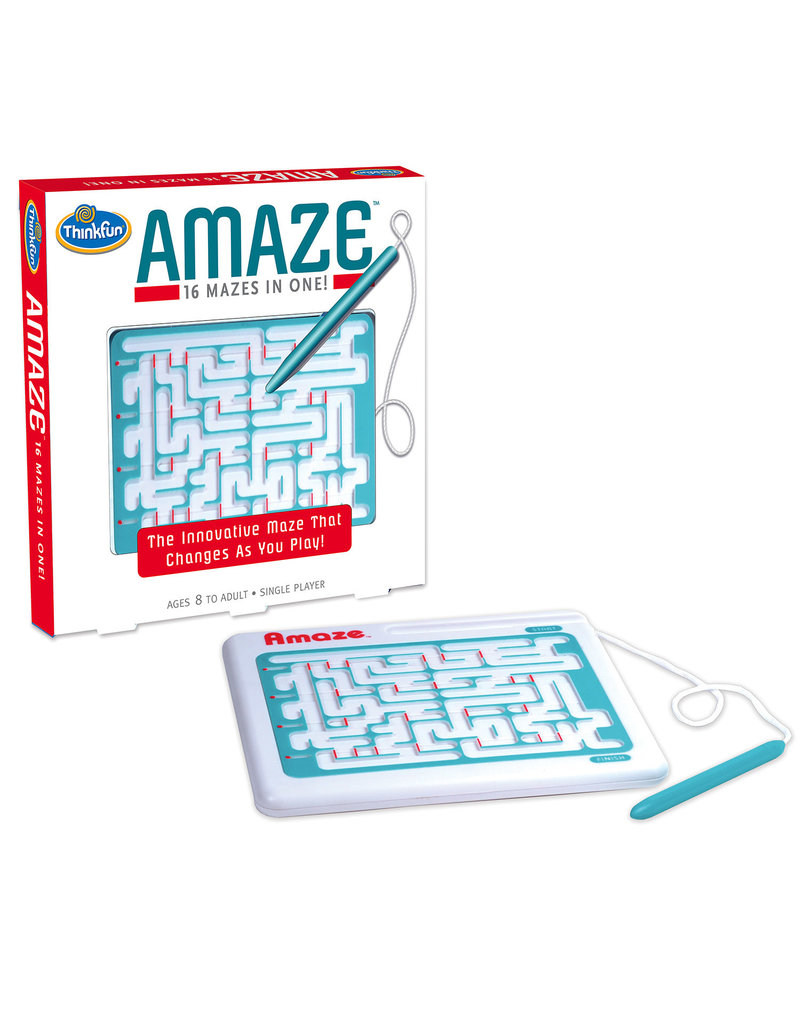 Think Fun Amaze - 16 Mazes In One!