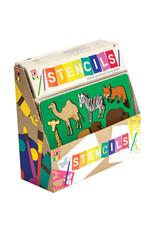 Schylling Art Box Stencils - Assorted