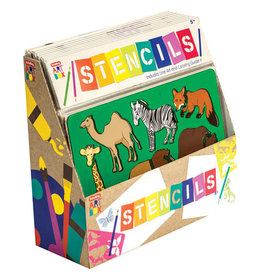Schylling Art Box Stencils - Assorted