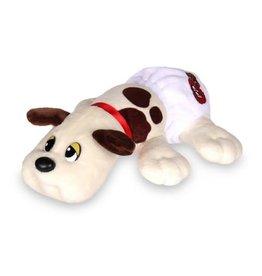 Schylling Pound Puppies - Newborns - White and Brown Spots
