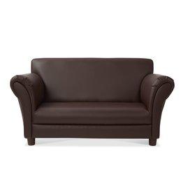 Melissa & Doug Child's Sofa - Coffee Foux Leather