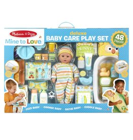 Melissa & Doug Mine to Love Deluxe Baby Care Play Set