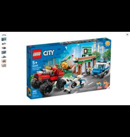 LEGO LEGO City Police Monster Truck Heist