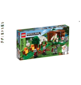 LEGO LEGO Minecraft The Pillager Outpost