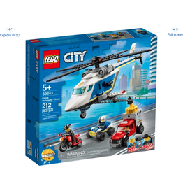 LEGO LEGO City Police Helicopter Chase