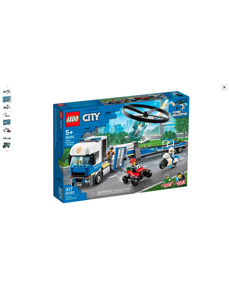 LEGO LEGO City Police Helicopter Transport