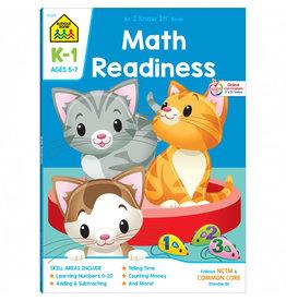 School Zone Workbook - Math Readiness - Grades K-1