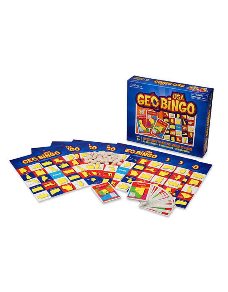 Geo Toys GeoBingo USA