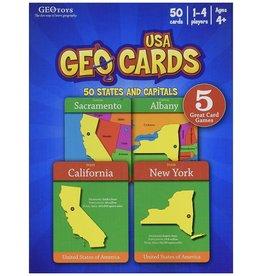 Geo Toys GeoCards USA