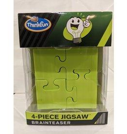 Think Fun 4-Piece Jigsaw Brainteaser (Green)