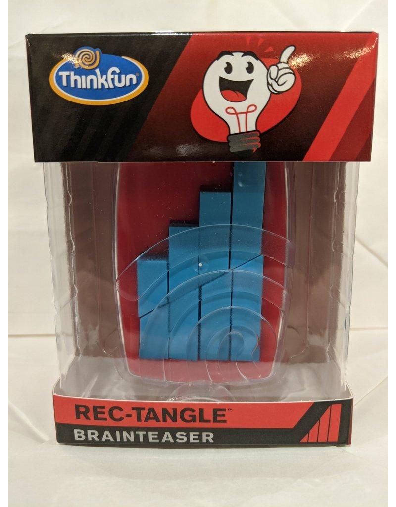 Think Fun 4-Piece Jigsaw Brainteaser (Red)