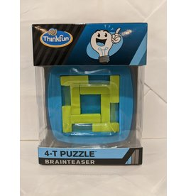 Think Fun Jigsaw Brainteaser 4-Piece (Blue)