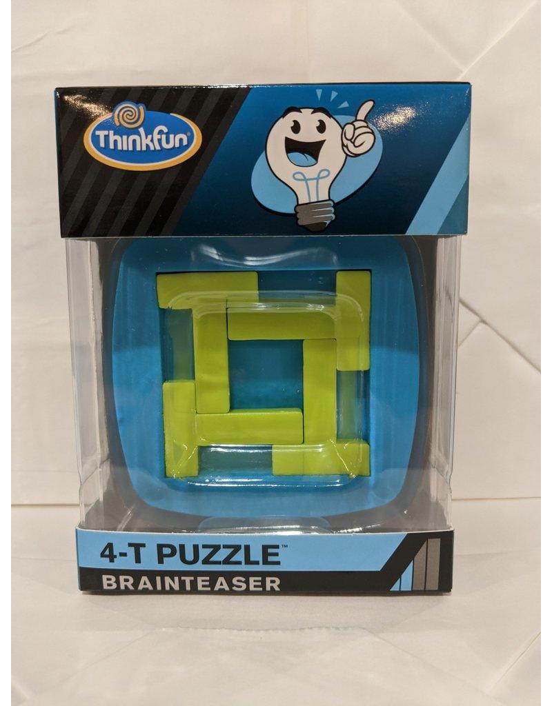 Think Fun 4-Piece Jigsaw Brainteaser (Blue)