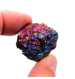 GeoCentral Rock/Mineral - Small Peacock Ore (Sold Individually)