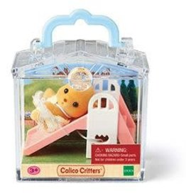 Calico Critters Calico Critters Mini Carry Cases - Dog on a Slide