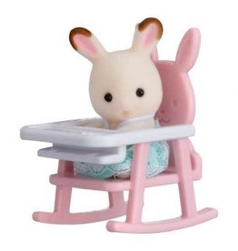 Calico Critters Calico Critters Mini Carry Cases - Bunny In High Chair