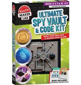 Klutz Klutz Maker Lasb Ultimate Spy Vault & Code Kit