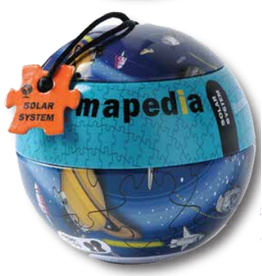Purple Cow Mapedia Jigsaw Puzzle - Solar System