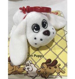 Schylling Toys Pound Puppies Clip On's - White