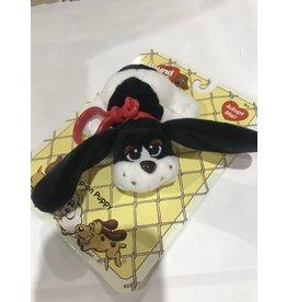 Schylling Toys Plush Pound Puppies Clip On's - Black Spots