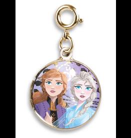 CHARM IT! Gold Elsa and Anna Locket Charm