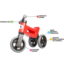 Free Wheelin Free Wheelin' Rider Sport Ruby Red
