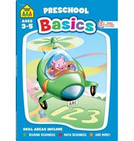 School Zone Super Deluxe Workbook-Preschool Basics - Ages 3-5