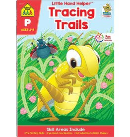 School Zone School Zone-Tracing Trails Ages 3-5
