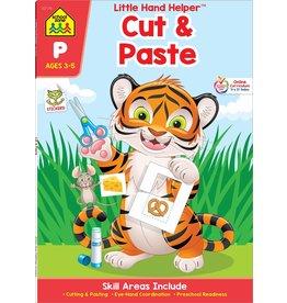School Zone Workbook Cut & Paste Ages 3-5