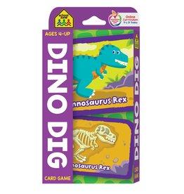 School Zone School Zone-Dino Dig flash card