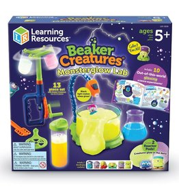 Learning Resources Science Kit Beaker Creatures Monsterglow Lab
