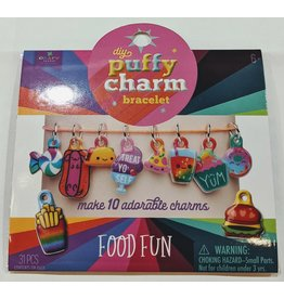 Ann Williams Group Jewelry Craft-tastic Puffy Charm Bracelet Food Fun
