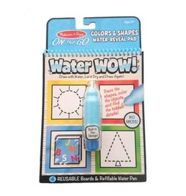 Melissa & Doug On-the-Go Water Wow! - Colors & Shapes Water Reveal Pad