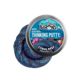 Crazy Aaron Putty Crazy Aaron's Thinking Putty - Color Shock - Coral Reef Mini