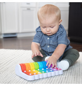 Fat Brain Toys Musical Baby Rock N' Roller Piano