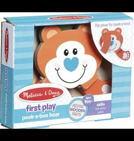 Melissa & Doug Baby First Play Peek-A-Boo Bear