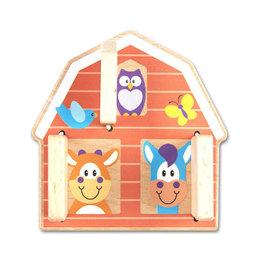 Melissa & Doug Baby First Play Peek-A-Boo Barn
