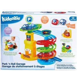 Epoch Kidoozie Park 'n Roll Garage, Toy Playset with Vehicles for Toddlers 18 Months