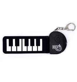 Mukikim Musical Rock and Roll It! Micro White Key Piano