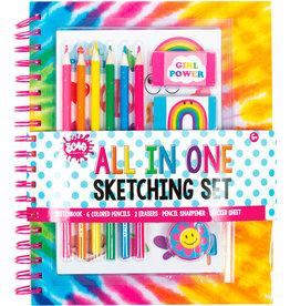 3C4G 3C4G All In One Sketching Set Tie Dye