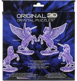 University Games 3D Crystal Deluxe Puzzle Unicorn