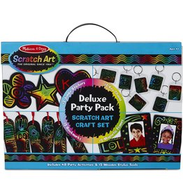 Melissa & Doug Craft Kit Scratch Art Deluxe Party Pack