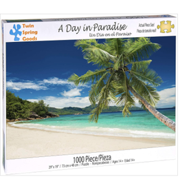 Twin Spring Goods Puzzle A Day in Paradise 1000 Pieces